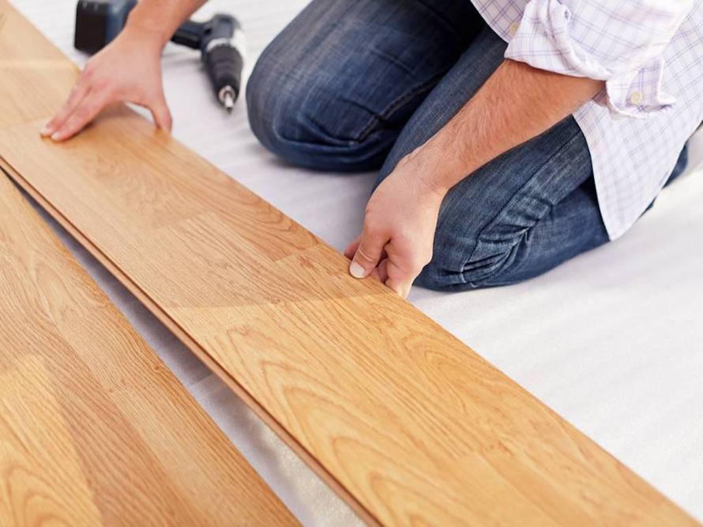 Hardwood Floor Fitting