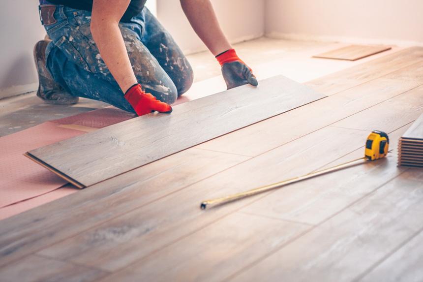 Laminate Floor Laying