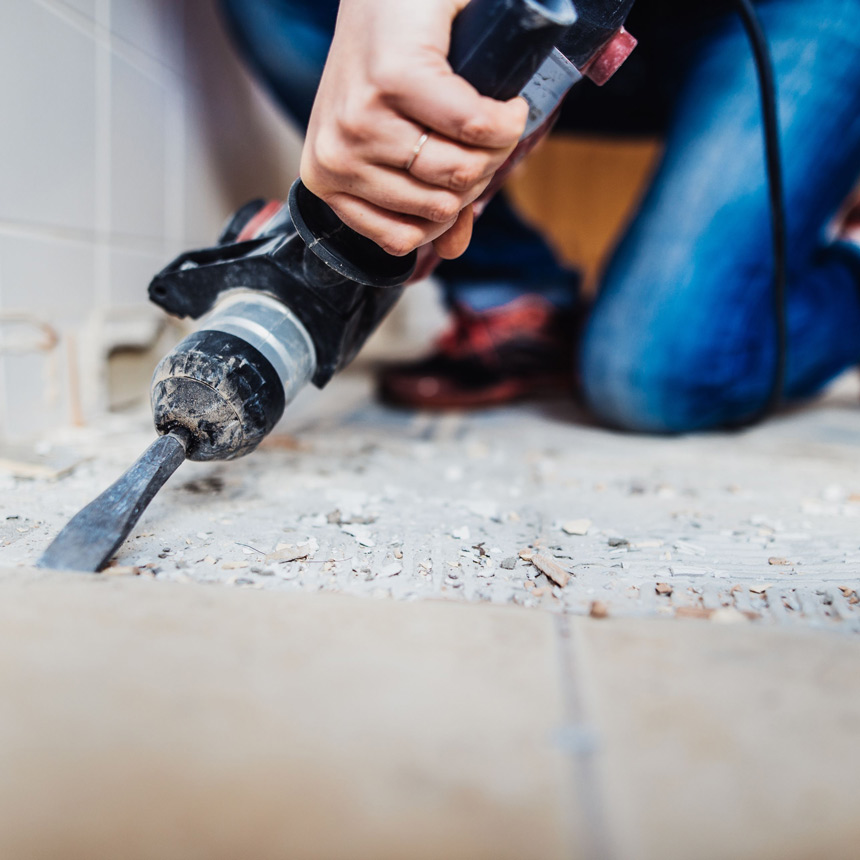 Tile Removal & Replacement