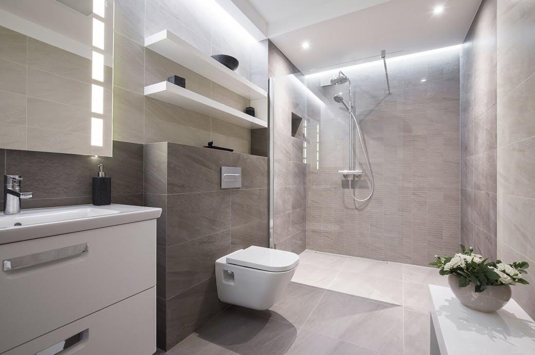 Wet Room & Shower Tiling